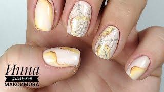❤ ТЕКСТУРЫ на ногтях ❤ ПАУТИНКА ❤ рисуем ПАУТИНУ на ногтях ❤ Дизайн ногтей гель лаком ❤