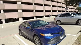 2018 Toyota Camry XLE 4-cylinder - Poor man's Audi A4