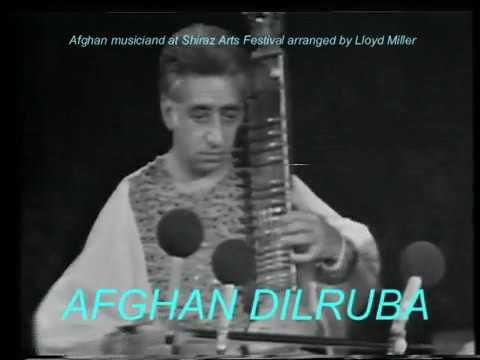 Afghan music at Shiraz Arts Festival, tambur  dilruba solos flv1