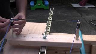 How To Make A Continuous Loop String With The One Arm Jig Part 2