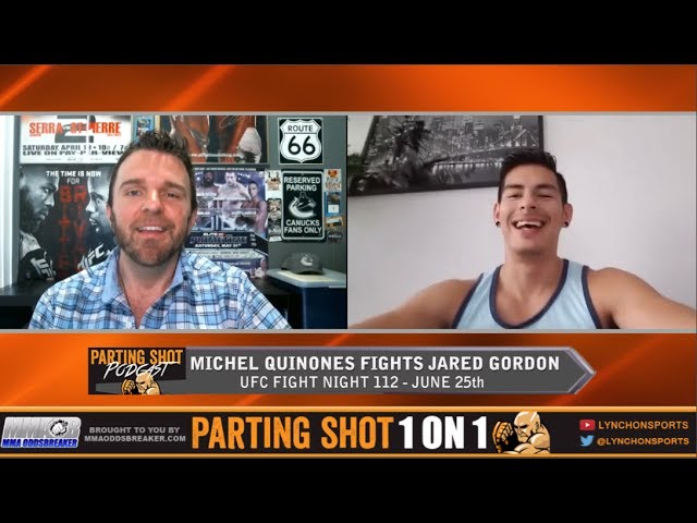 UFC Fight Night 112's Michel Quinones talks Jared Gordon, UFC 211 cancelled fight & UFC retreat
