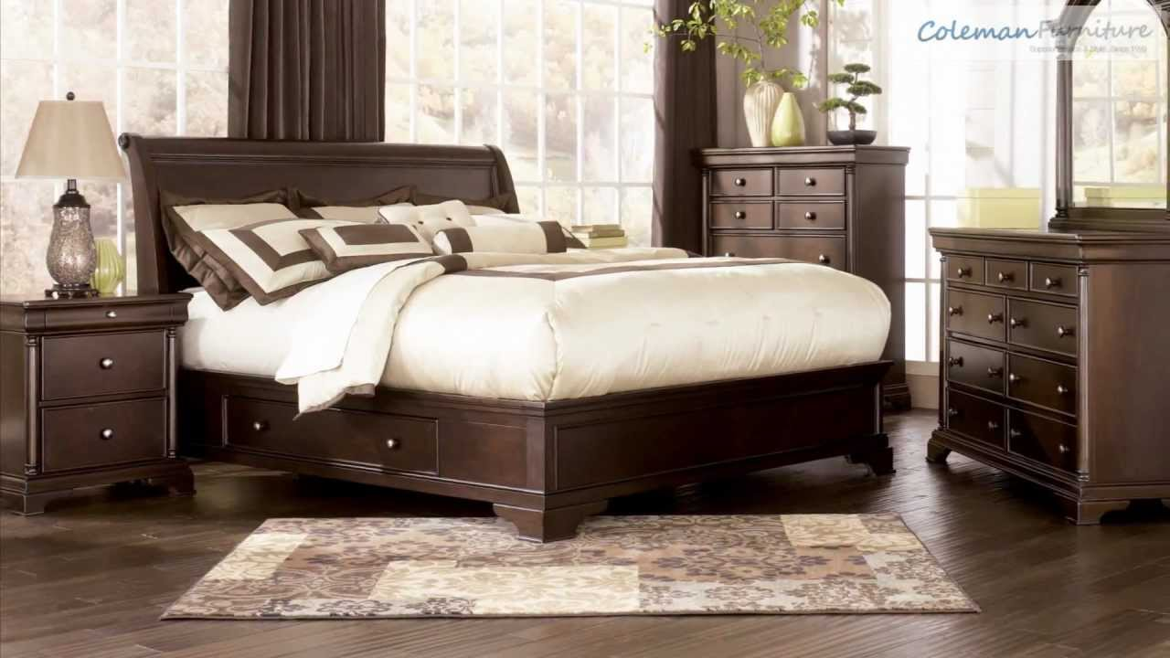 Leighton Bedroom Furniture from Millennium by Ashley - YouTube