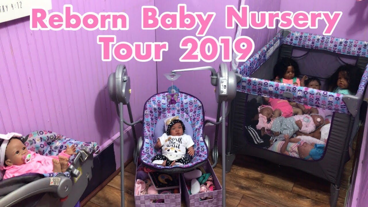Young Reborn Mommy Nursery Tour 2019