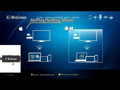 Cara Setting Koneksi Dan Penggunaan Mirascreen Via Android Youtube