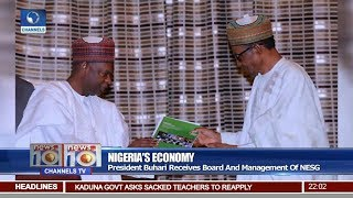 President Buhari Receives Board And Management Of NESG Pt.1  News@10  22/01/18