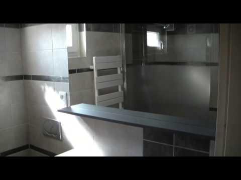 Aquadoccia salle de bain gris argent youtube for Salle de bain youtube