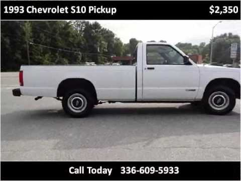 Impex Auto S Greensboro 1993 Chevrolet S10 Pickup Used Cars Nc You