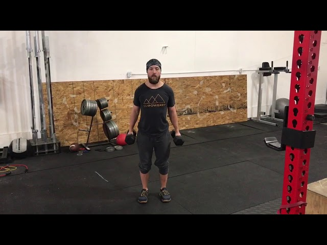 DB Bicep Curls to External Rotation