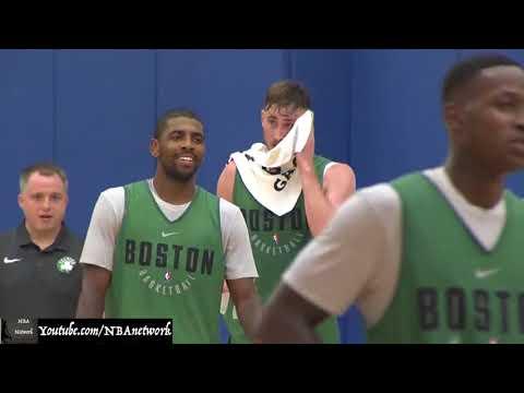 Boston Celtics - Day 1 of Training Camp!