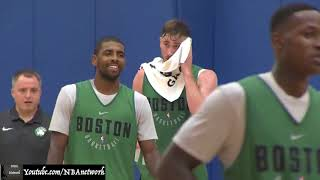 Boston Celtics - Day 1 of Training Camp!