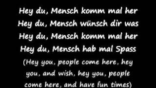 Hey hey! look who's back :) Hey Du! by Tokio Hotel lyrics and trans...