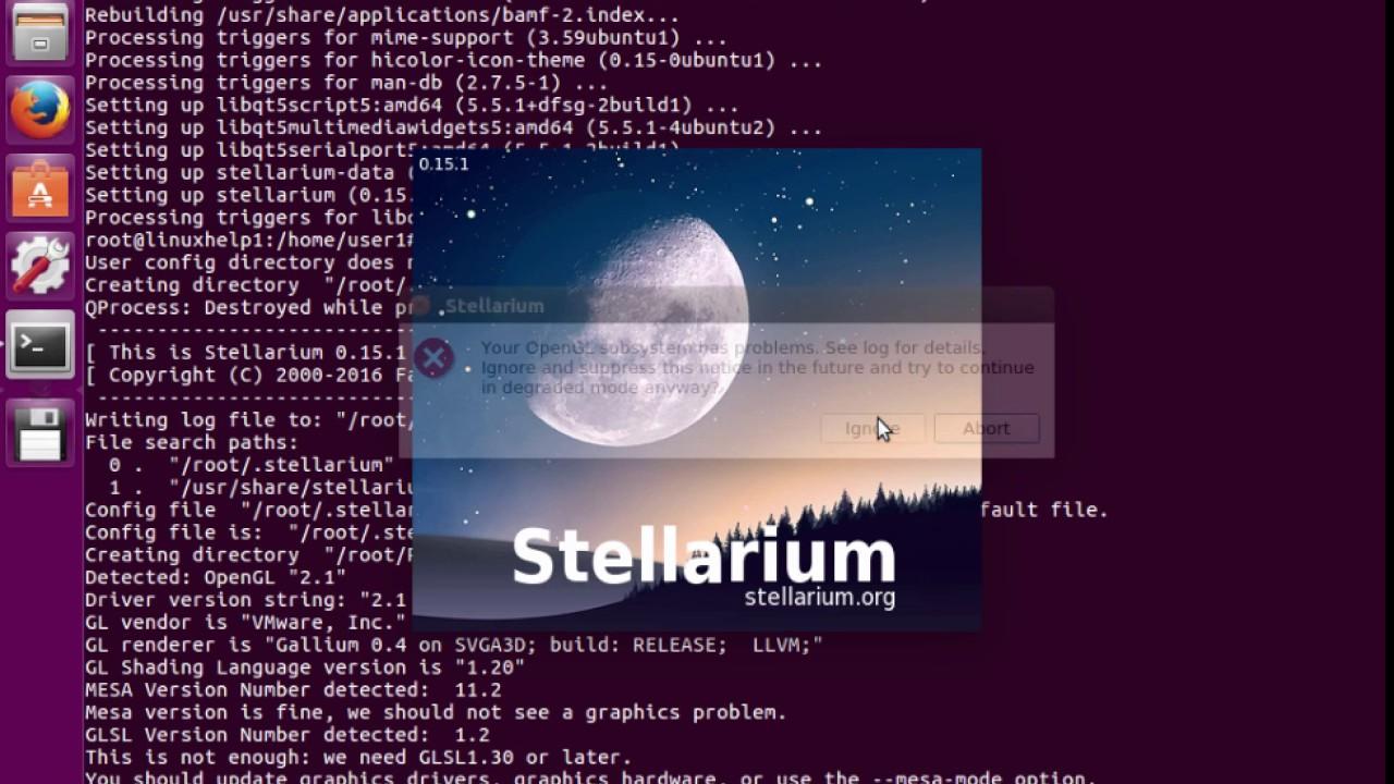 How to install Stellarium in Ubuntu