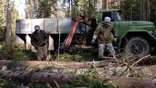 Покатушки в лес ЗИЛ 131
