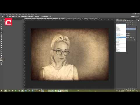 HOW TO CREATE A RETRO PORTRAIT IN PHOTOSHOP