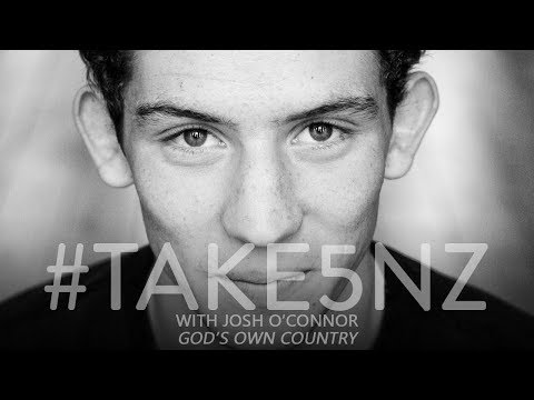 #Take5NZ with Josh O'Connor (God's Own Country)