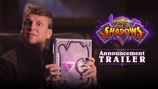 Rise of Shadows Announcement Trailer | Hearthstone
