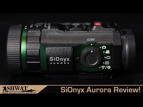 Sionyx Aurora Review - First Look at this color night vision device!