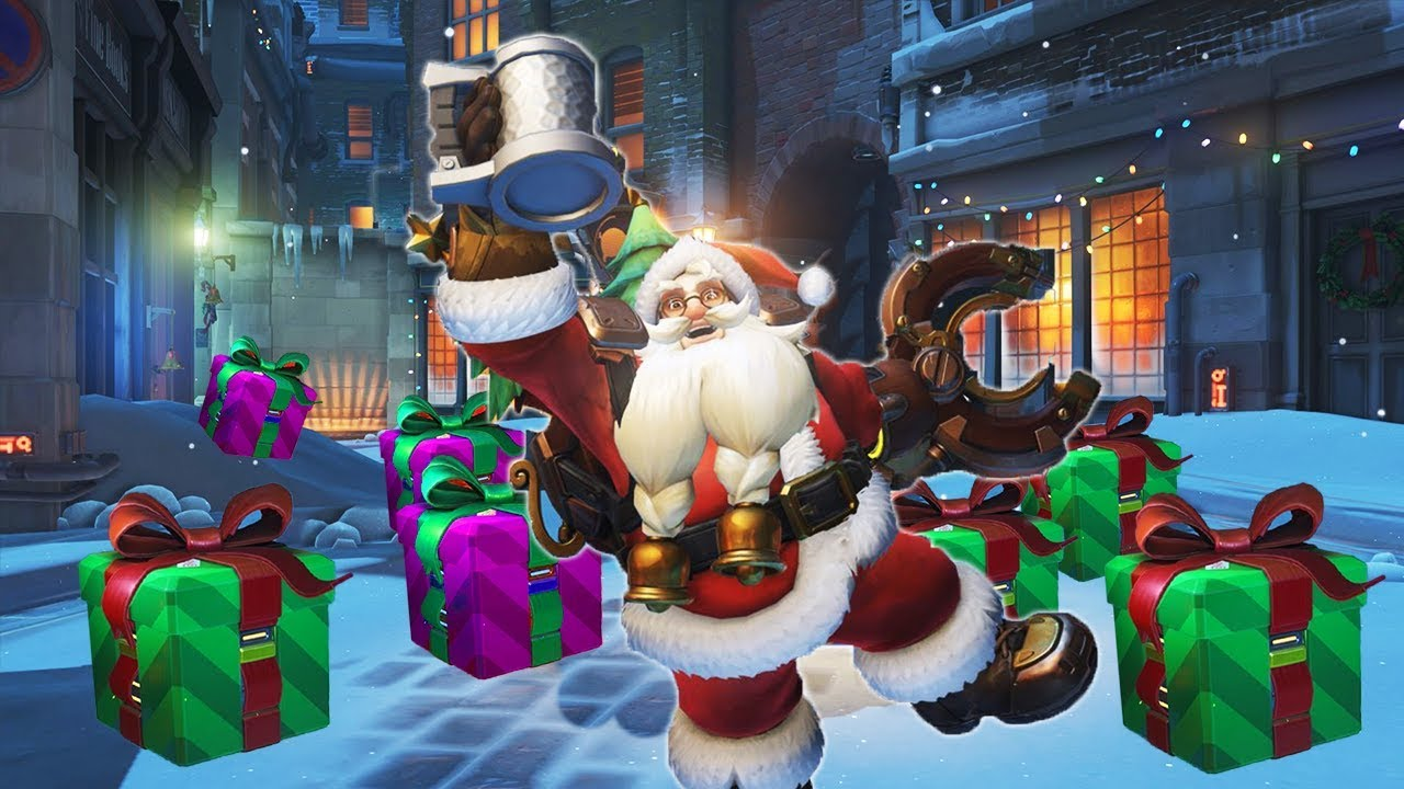Overwatch Christmas.Getting Ready For The Christmas Update Overwatch