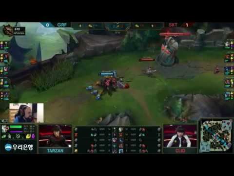 [PapaSmithy VOD Review] SK Telecom T1 vs  Griffin LCK Spring Week 7 2019  Game 2
