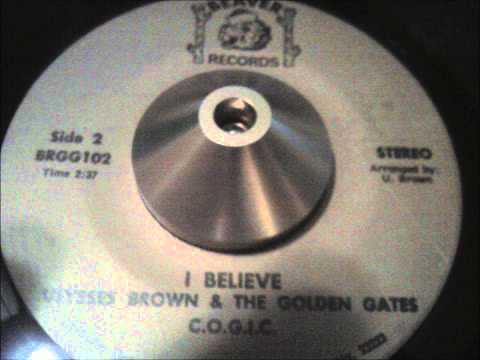 "ulysses brown & the golden gates - ""i believe"" richmond, va gospel soul on beaver!"