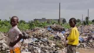 Trash dump in Abobo, Abidjan, Cote d'Ivoire
