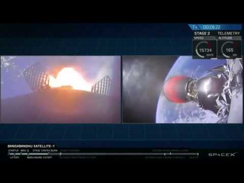 Touchdown! SpaceX Falcon Block 5 Rocket's First Stage Lands