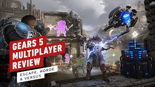 Gears 5 Multiplayer Review (Video Game Video Review)