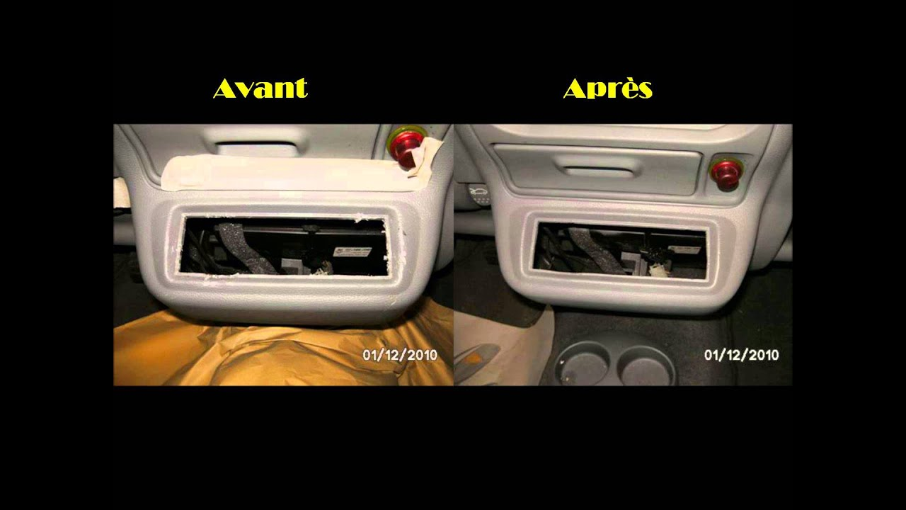R paration r novation de votre int rieur automobile youtube for Peinture interieur voiture