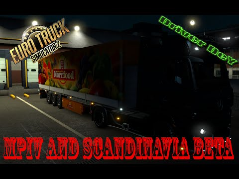 MPIV and Scandinavia Beta★ Euro Truck Simulator 2 ★