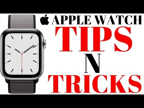 Apple Watch Series 5 Tips & Tricks /Apple Watch Tips & Tricks