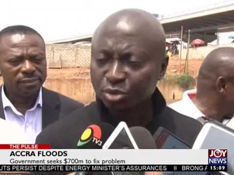 Accra Floods - The Pulse on Joy News (27-2-17)