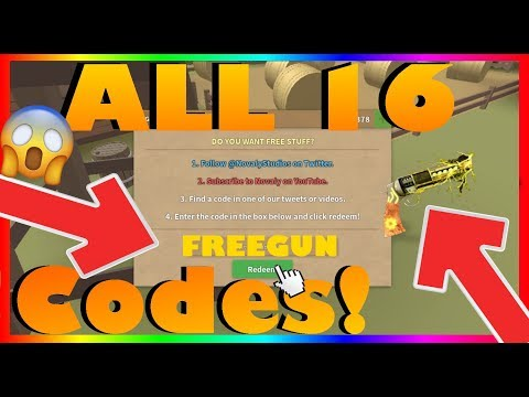 [16 CODES] WILD REVOLVERS *ALL* 16 NEW CODES! (2020) |ROBLOX