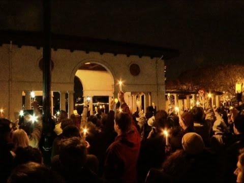 Hundreds Attend Vigil For Oakland Fire Victims