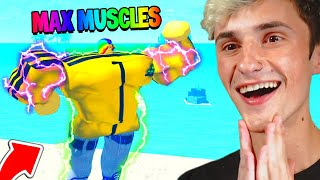 I became MASSIVE 🔥with ULTRA MAX MUSCLES 💪(Roblox)