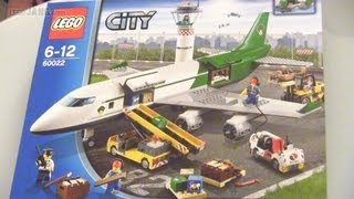 LEGO City Cargo Terminal 60022 speed build!
