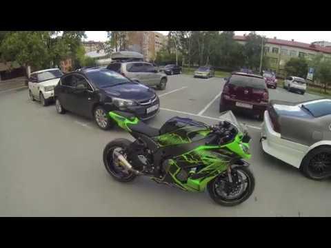 Выпуск №1 / замер разгона / гонка Kawasaki Zx10 VS BMW S1000RR VS Yamaha R1 / Ducati Pinigale V4S