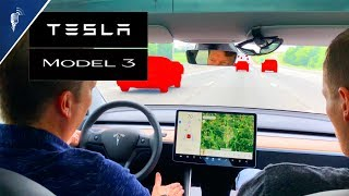 Tesla Model 3 AutoPilot: 70mph Auto Lane Changes + Backroads