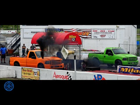 Milan Dragway DIESEL OUTLAW EVENT