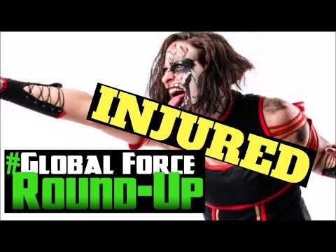 Rosemary Injured at AAA TripleMania | King of the Mountain Podcast | Global  Force Round-Up