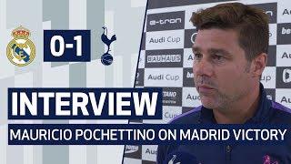 INTERVIEW | MAURICIO POCHETTINO ON MADRID VICTORY | Real Madrid 0-1 Spurs