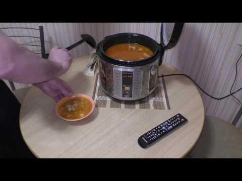 Как сварить суп в мультиварке редмонд