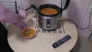 Суп вермишелевый с фрикадельками в мультиварке REDMOND RMK-M271