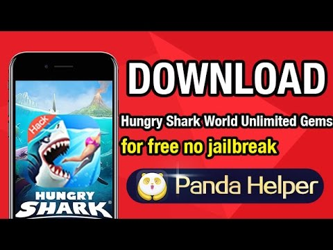 How to download Hungry Shark World hack for free on iOS 10 without  jailbreak