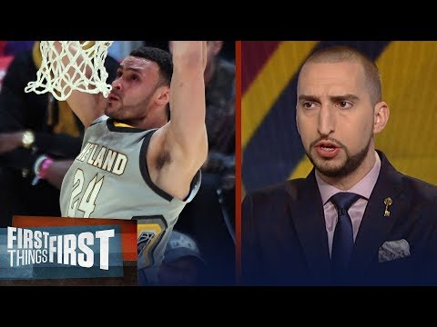 Nick Wright on why Larry Nance Jr. is the integral weapon LeBron's Cavs missed   FIRST THINGS FIRST