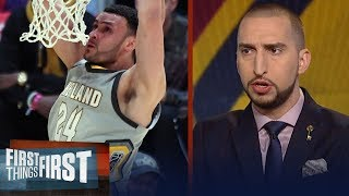 Nick Wright on why Larry Nance Jr. is the integral weapon LeBron's Cavs missed | FIRST THINGS FIRST
