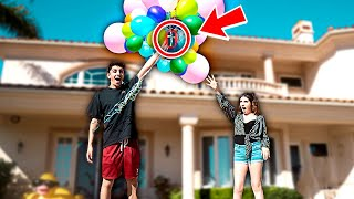 Download TYING IPHONE TO BALLOONS PRANK!! **this shouldn't have happened** Mp3 and Videos