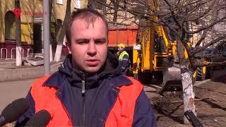 Ремонт улицы Карла Либкнехта