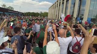 Лужники Фанаты Москва Футбол 17 06 18 Мексика Германия Новости Чемпионат Мира лужники 2018