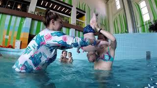 Занятия плаванием. Аквапарк Атолл. Обучение🏊😘