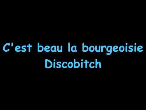 Discobitch - C'est beau la bourgeoisie + Lyrics [HD & HQ] (Citroën Werbung 2013 Song)
